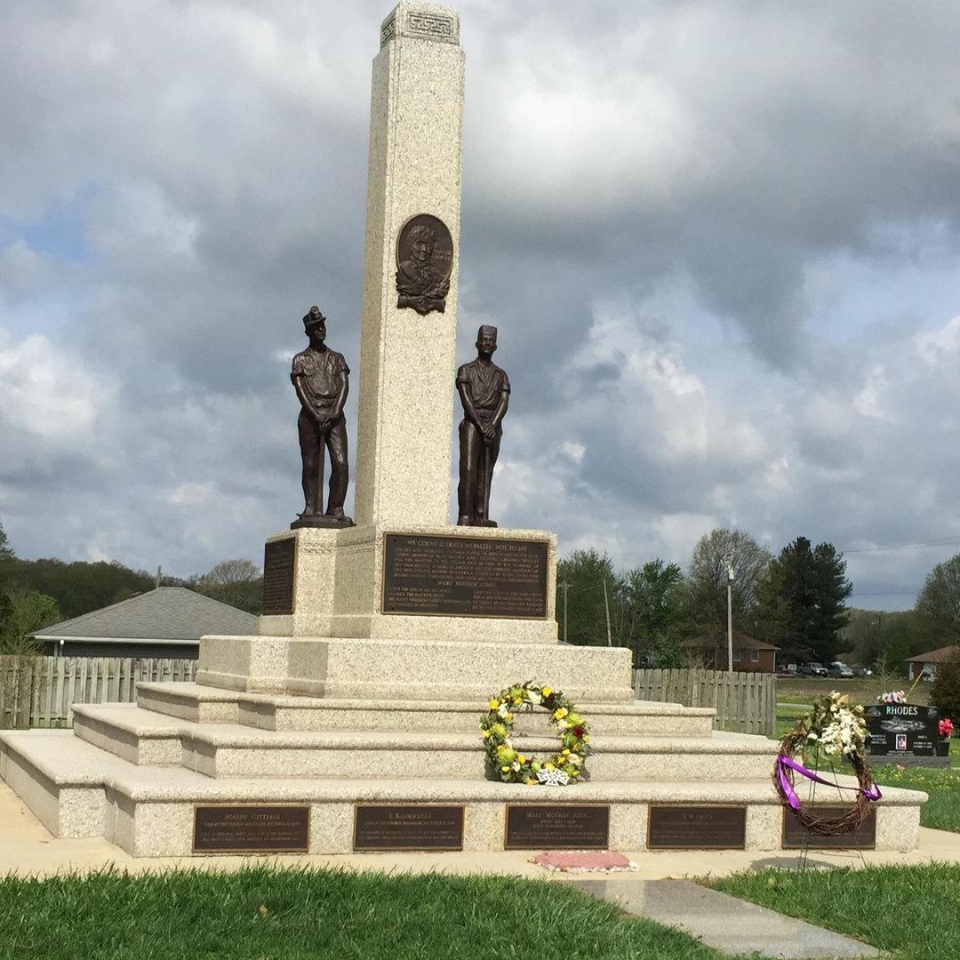 Mother Jones Monument/Union Miners Cemetery