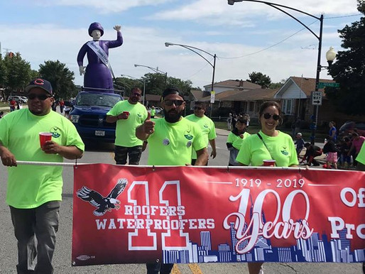 Labor Day Parade - Chicago and Rockford, 2019