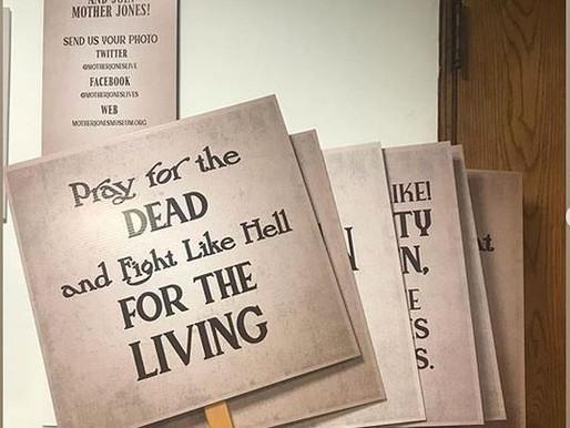 Mother Jones Irish Rebel Exhibit Opening