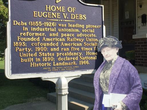 Mother Jones Visits Eugene Debs