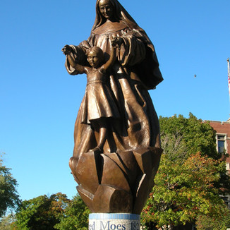 MOTHER ALFRED MOES Sculpture by Kathleen Scarboro