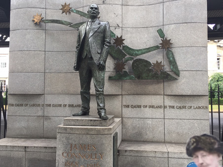 Mother with James Connolly