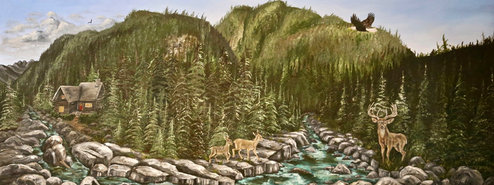 Wally Creek British Columbia Canada