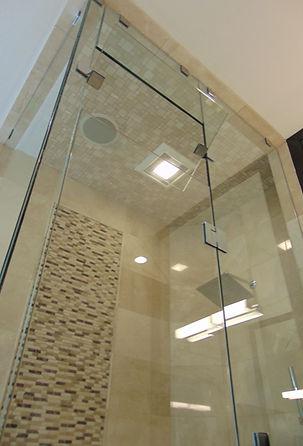 Steam shower enclosure