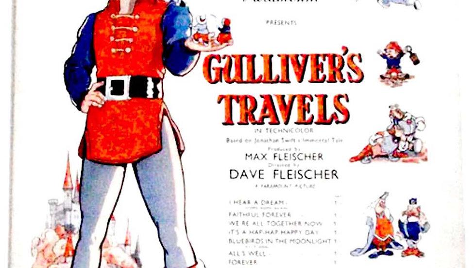 Gulliver's Travels Sheet Music 1939