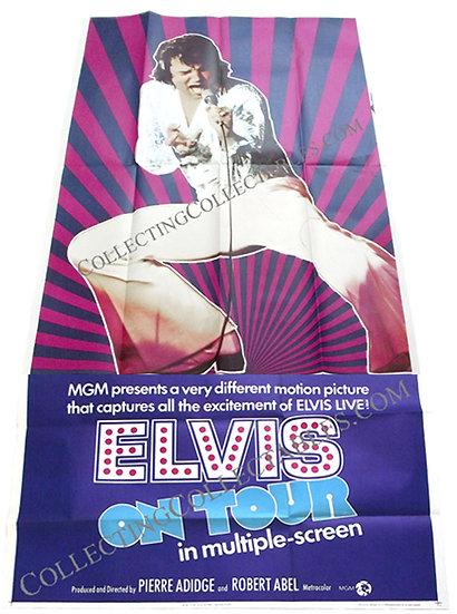 Elvis On Tour U.S. 3-Sheet Film Poster 1972