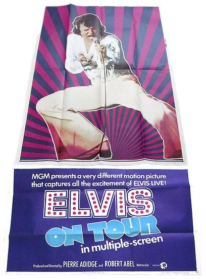 Elvis On Tour Film Poster 1972
