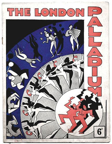 All Alright At Oxford Circus London Palladium Theatre Programme 1935