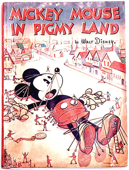 Walt Disney Mickey Mouse in Pigmy Land 1936