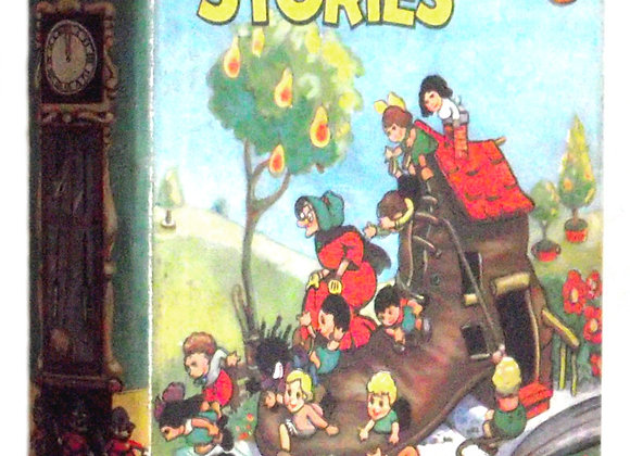 Mickey Mouse Presents Walt Disney Nursery Stories UK First Edition 1935