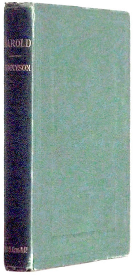 Alfred Lord Tennyson Harold A Drama First Edition 1877