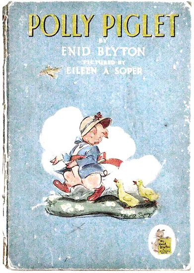 Enid Blyton Polly Piglet First Edition 1944