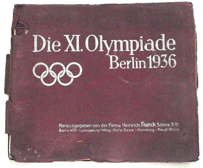 Berlin Olympics 1936 German Trade Card Album