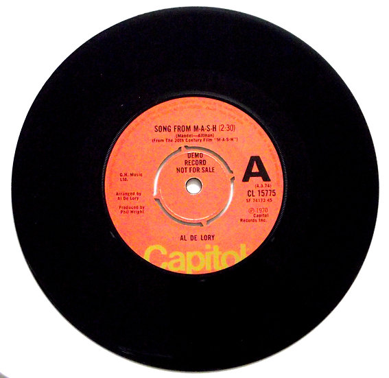 Song From MASH Demo Record 1970