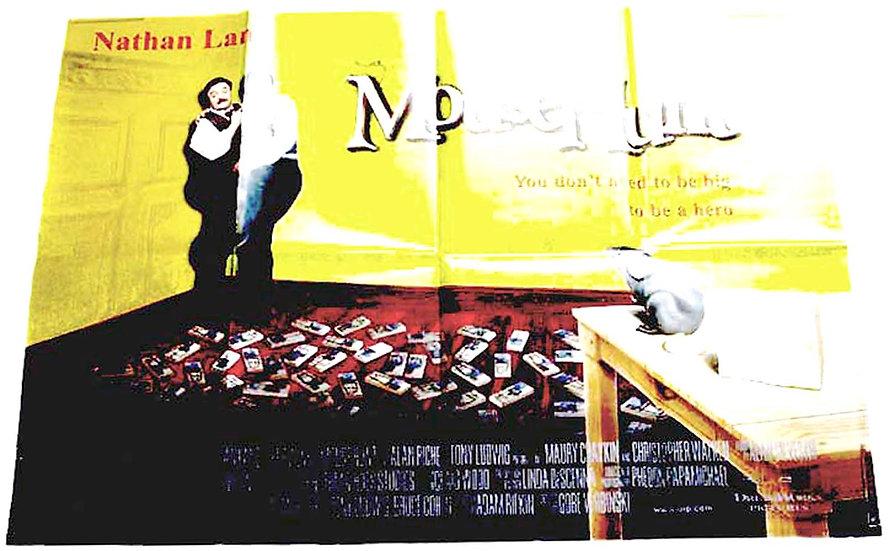 Lee Evans Mousehunt British Quad Film Poster 1997