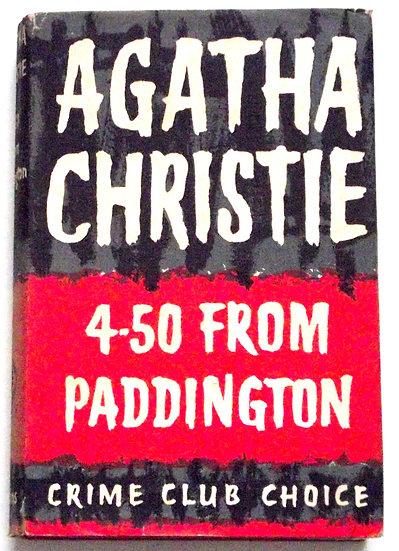 Agatha Christie 4.50 From Paddington First Edition 1957