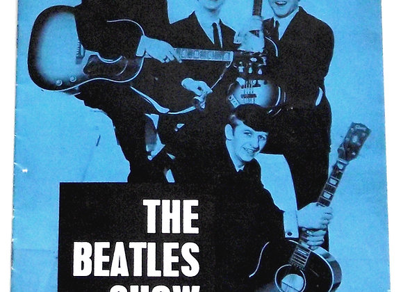 The Beatles Show Bournemouth Concert Programme 1963