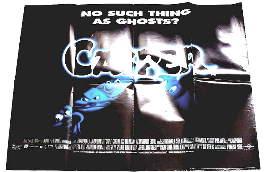 Casper British Quad Film Poster 1995