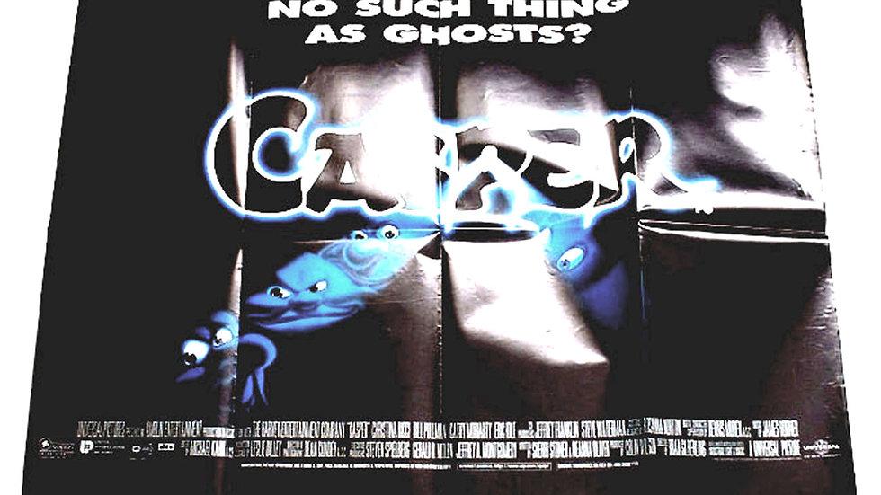 Casper British Quad Film Poster 1995