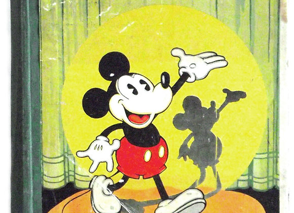 Walt Disney Mickey Mouse Movie Stories First Edition 1933