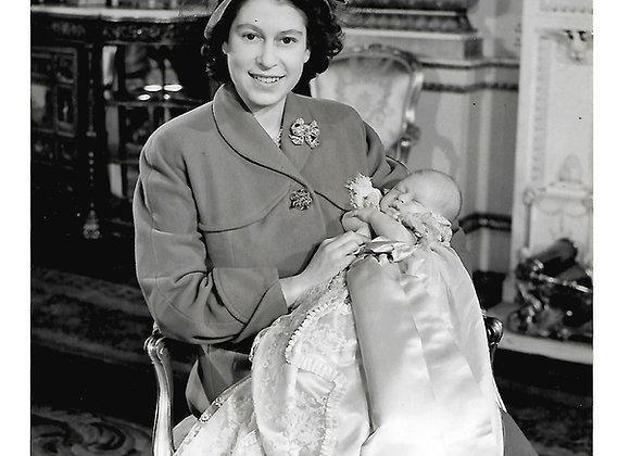 Prince Charles Christening Press Photographs 15th December 1948