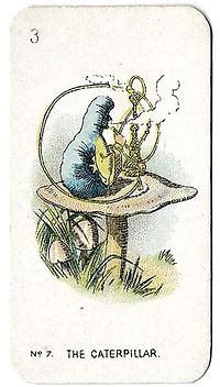 Alice-In-Wonderland-Cigarette-Cards-No-7