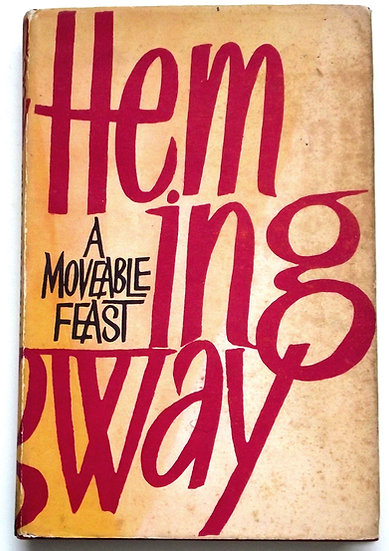 Ernest Hemingway A Moveable Feast First Edition 1964