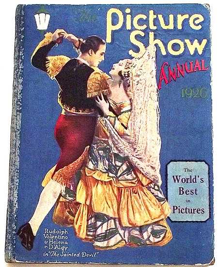 The Picture Show Annual 1926 Vintage Film Book