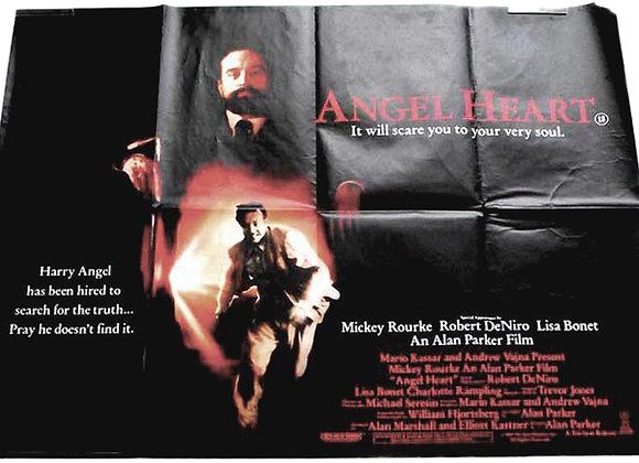 Angel Heart British Quad Film Poster 1987