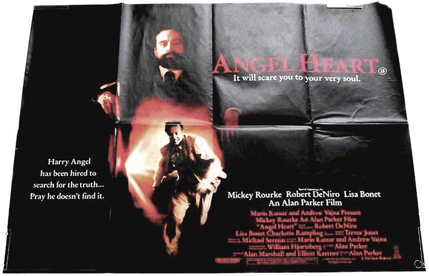 Robert de Niro Angel Heart British Quad Film Poster 1987