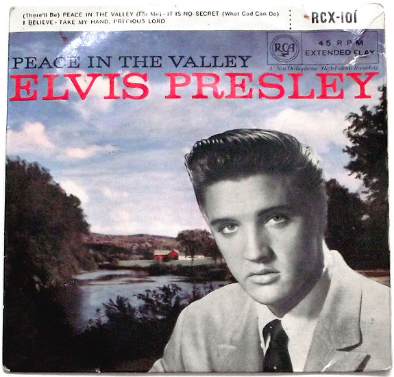 Elvis Presley Peace in the Valley EP 1957