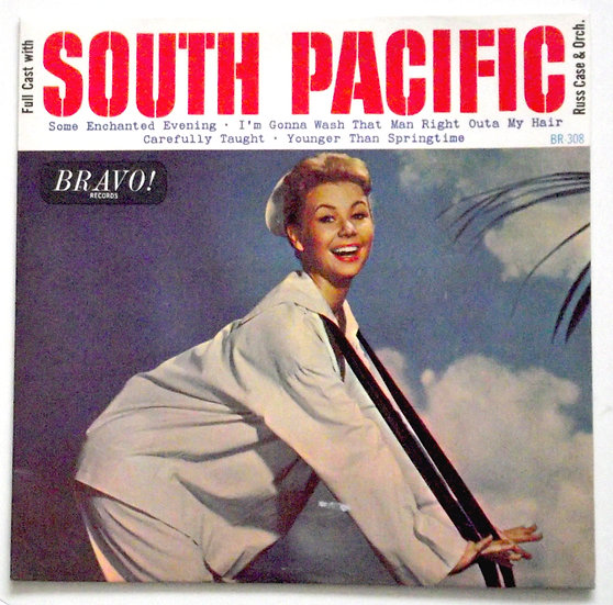South Pacific Soundtrack EP 1964