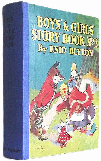 Enid Blyton Boys' and Girls' Story Book No 3 First Edition 1935