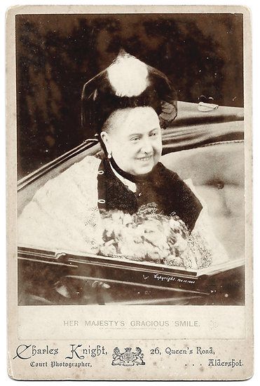Queen Victoria Cabinet Photograph by Charles Knight Copyright Feb 15 1898