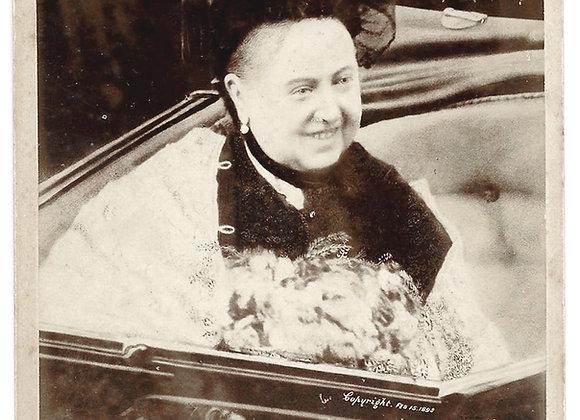 Queen Victoria Cabinet Photograph 1898