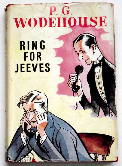 P.G. Wodehouse Ring For Jeeves Dust Jacket Front