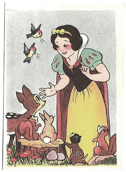 Walt Disney Snow White Rare Complete Set 1940