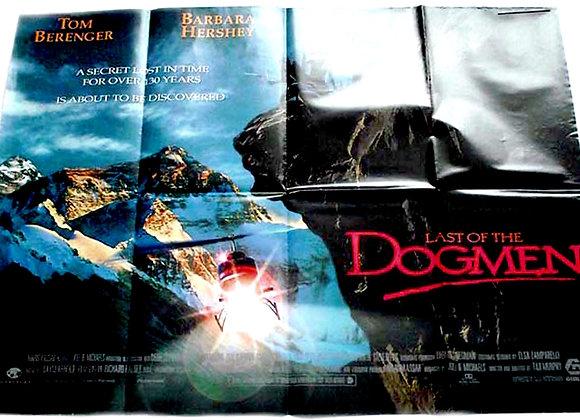 Last of the Dogmen British Quad Film Poster 1995
