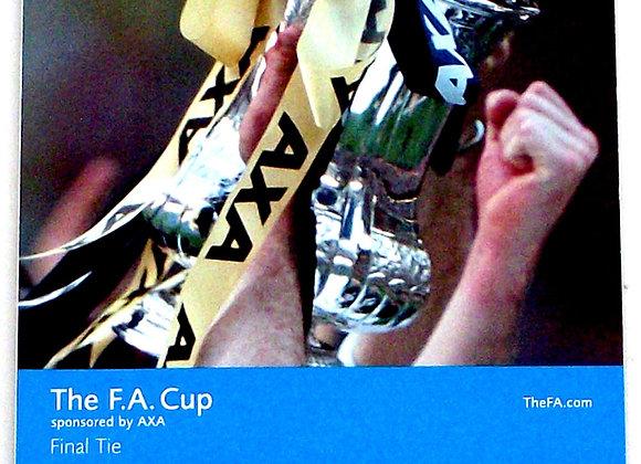 Arsenal F.C. v Chelsea F.C. FA Cup Final Football Programme 2002