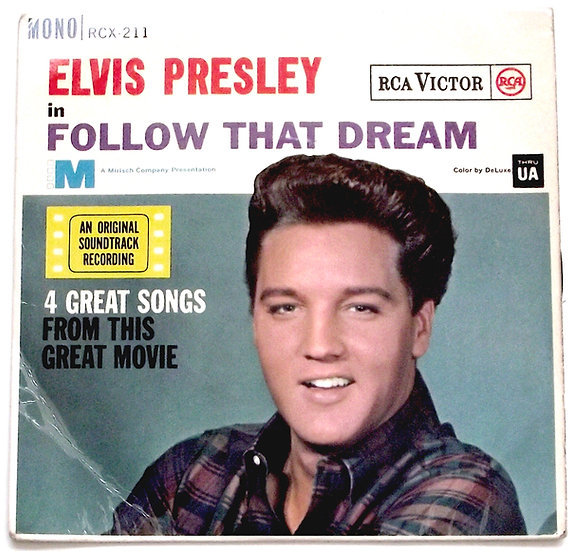 Elvis Presley Follow That Dream EP 1962