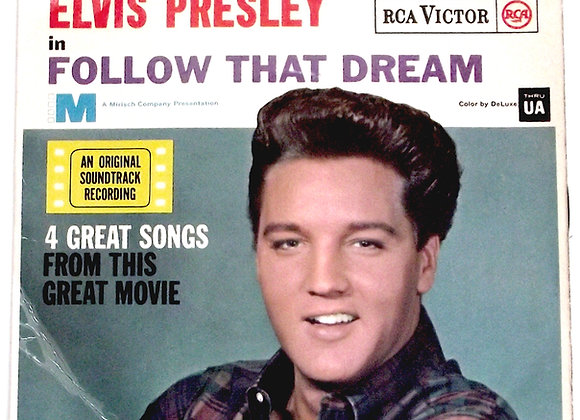 Elvis Presley Follow That Dream EP 1962