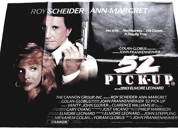 52 Pick-Up British Quad Film Poster 1986