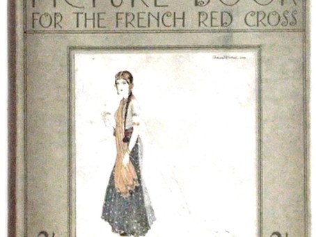 Edmund Dulac Picture Book for the French Red Cross First Edition 1915