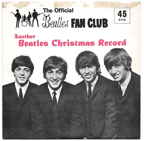 The Beatles Third Christmas Flexi Disc 1965