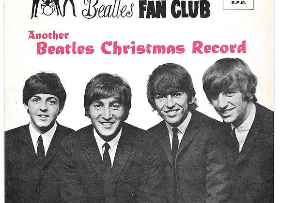 The Beatles Third Christmas Flexi Disc 1965
