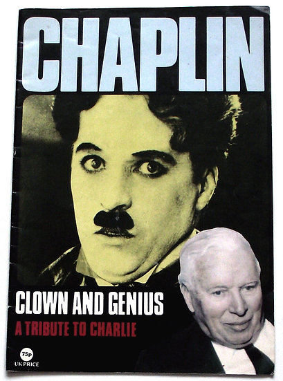Charlie Chaplin Tribute Booklet 1978
