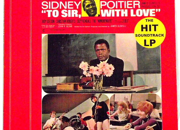 To Sir With Love Film Soundtrack LP 1967