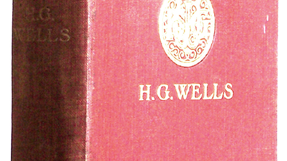 H.G. Wells New Worlds For Old First Edition Book 1908