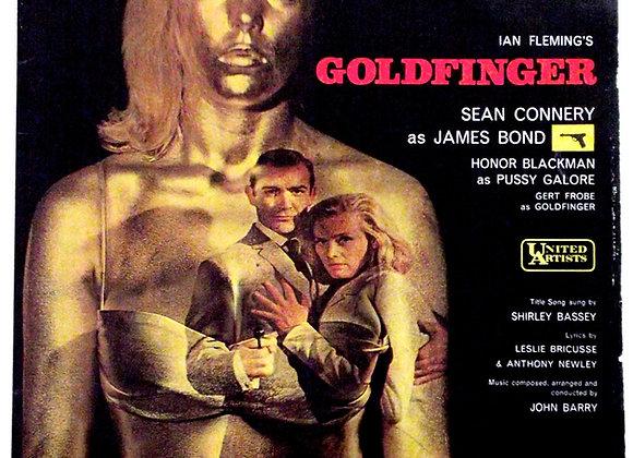 James Bond Goldfinger Soundtrack Mono LP 1964