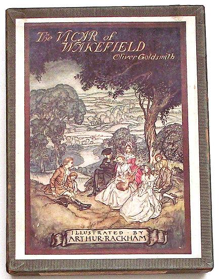 Arthur Rackham The Vicar of Wakefield U.S. First Edition in Original Box 1929